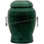 Урна каменная Зеленый гибискус